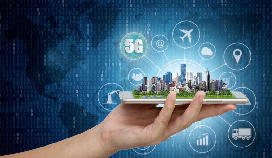 Maquete cidade mostrando a transformação digital em torno dela